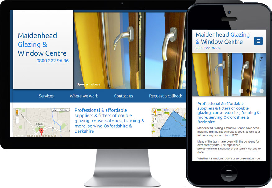 Maidenhead Glazing - design and responsive build